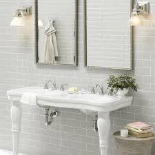 light grey bathroom tiles. Plain Light Metro Light Grey  200mm X 100mm Inside Bathroom Tiles G