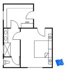 Master Bedroom Floor Plan With Entrance Straight Into The Bedroom. Then A  Door Leads To