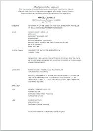 Examples Of Resumes For Medical Assistants Threeroses Us