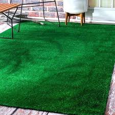 faux grass rug artificial outdoor lawn turf green patio x fake indoor