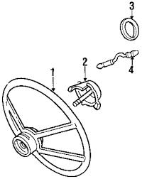 Genuine chevrolet steering wheel che 16759292