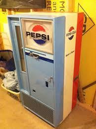 Vintage Pepsi Vending Machine Value New Pepsi Machinevendorlator48VendoPepsi Colavendorlator 48Vintage