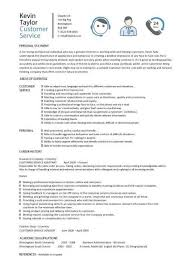 Sample Resume For Job Custom Customer Service Resume Templates Skills Customer Services Cv Job