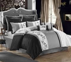 black and grey bedding sets gray cream bedding dark gray comforter queen silver gray comforter set gray bedding queen complete bed sets
