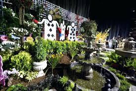 alice in wonderland garden wonderland garden display sharing alice in wonderland garden ornaments for