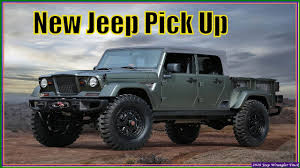New Jeep Pickup Truck 2018   Jeep Wrangler Review - YouTube
