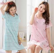 L 3XL Large <b>Size Maternity</b> Sleepwear 100% cotton For Pregnant ...