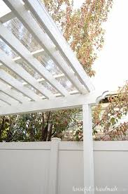 installing a clear pergola roof was the best decision ever it has turned our side yard is a three season patio that we can enjoy in any weather