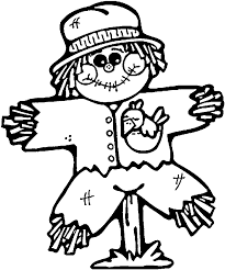 Small Picture Printable Scarecrow Coloring Pages 17039 Bestofcoloringcom