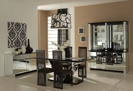 Round Back Dining Room Chairs Small Dining Room Round Table Dark Framed Wooden Stands