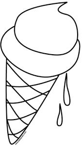 Disegno Di Cono Gelato Da Colorare Disegni Da Colorare E Stampare