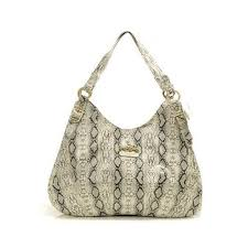 Coach Embossed Medium White Hobo DYF