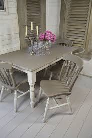 shabby chic dining room furniture. Grey \u0026 White Shabby Chic Dining Table With 4 Chairs Artwork | Room Furniture Pinterest Dining, And
