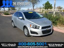 Sold 2015 Chevrolet Sonic LS in Phoenix