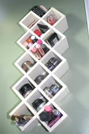 HD Creative Makeup Storage With Shelves In Wall Mounted Idea File Free