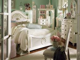 Vintage inspired bedroom furniture Crack Paint Dazzling Country Bedroom Design Idea With White Queen Bed And Classic White Vanity Also Dark Wood Floor Saethacom Dazzling Country Bedroom Design Idea With White Queen Bed And