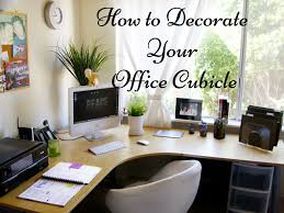 how to decorate office cubicle