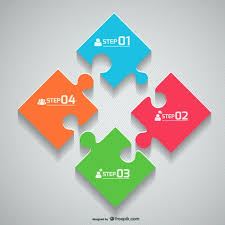 Jigsaw Flat Design Graphic Vector Free Vector Download In Ai