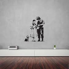 banksy wizard of oz stop and search wall artvinyl revolution with regard to 2017 wizard of