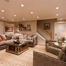 basement ideas for family. Cozy Basement Living Room And Really Like The Lights Ideas For Family O