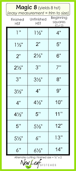Half Square Triangle Cutting Chart Nice Tutorial On Making Preface Hs Triangles Magic 8 Half
