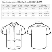 Us Standard Shirt Size Chart Expert Mens Shirt Measurements Chart American Apperal Size