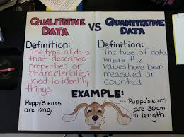 What Does Chart Mean In Science Qualitative Vs Quantitative Anchor Chart Science Anchor