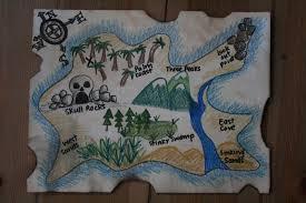 Design A Treasure Map Activity Diy Pirate Map And Treasure Hunt Games The Imagination Tree