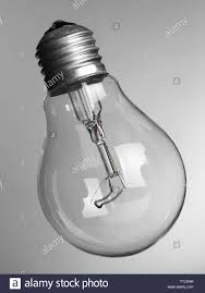 Perfume On Light Bulb Light Bulb On Grey Background Stock Photo 256102521 Alamy