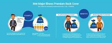metlife major illness premium back cover