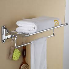 towel rack with hooks. 2015 New Luxury Bathroom Hooks Brass Wall Mounted Clothes Towel Racks Top Grade Shelf Hooks-in Shelves From Home Improvement On Rack With