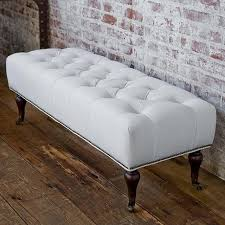 Exceptional White Bedroom Bench Treenovation Bedroom Benches