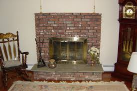 fireplace cool restoring brick fireplace design decor excellent at home design cool restoring brick fireplace