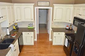 Antique White Kitchen Painted Kitchen Cabinets At Home With The Barkers