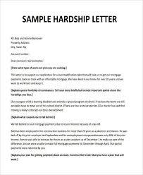 Hardship Letter For Loan Modification 2018 Paper Sam