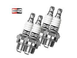 Small Engine Spark Plug For Lawn Equipment 4 Pack Champion Cj8 843 Newegg Com