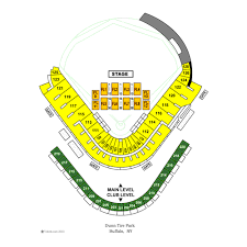 Buffalo Bisons Field Seating Chart Coca Cola Field Events And Concerts In Buffalo Coca Cola