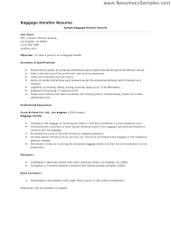 Material Handler Resume Examples Best Of Format For Airline Ground Staff Resume Templates Impressive Format