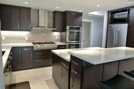 kitchen floor tile ideas with dark cabinets modern cabinet and white counter porcelain floors plans pictures