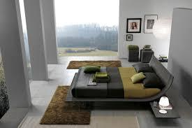 Schlafzimmer Grau Ein Modernes Schlafzimmer Interior In Grau
