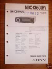sony mdx c service manual sony mdx c6500rv mini disc player origin