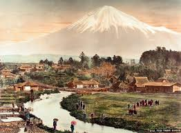 Japan Landscapes Mount Fuji Artwork Katsushika Hokusai