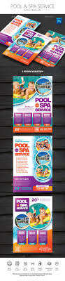 pool service flyers. Pool And Spa Service Flyer Template PSD Flyers