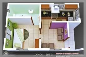 Small Picture 3D isometric views of small house plans Kerala home design and