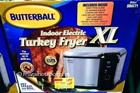 Butterball Electric Fryer Cooking Chart Butterball Xl 365daysofthrift Co