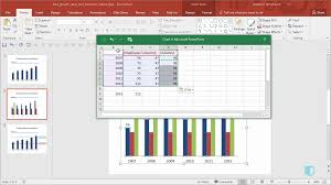 Add Cagr Line To Excel Chart Growth Rates And Baselines On Charts Online Powerpoint Training