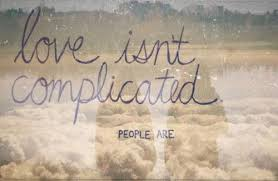 Love Is Complicated Quotes Amazing True Cute Best Love Quote Complicated Love Quotes