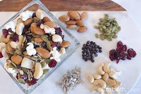 trail mix ingredients. Wonderful Trail Healthy Trail Mix Recipe Elizabeth Rider 1 On Ingredients M