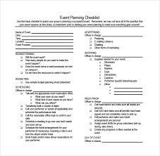 Event Planning Checklist Pdf Event Planner Checklist Sample Barca Fontanacountryinn Com