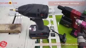Máy Làm Mộc - Maylammoc.com - Bắt vít không chổi than Panasonic EZ7545 Gold  pin 14.4V - 4.2Ah
